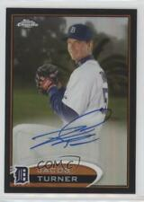 2012 Topps Chrome Rookie Autograph Black Refractor #39 Jacob Turner Auto Card