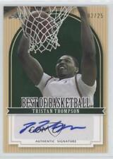 2012-13 Leaf Best of Basketball Green TT1 Tristan Thompson Auto Autographed Card