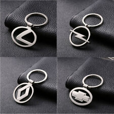 Fashion Car Logos Titanium Key Chain Car Keychain Ring Keyfob Metal Keyrings