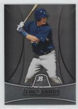 2010 Bowman Platinum Prospects Chrome Thin Stock Refractor #PP1 Jerry Sands Card