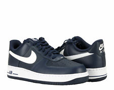 Nike Air Force 1 Midnight Navy/White Men's Basketball Shoes 488298-436