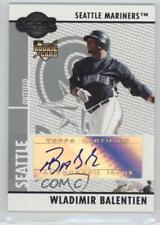 2008 Topps Co-Signers 109 Wladimir Balentien Seattle Mariners Auto Baseball Card