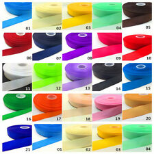 Wholesale 5 Yards 6/10/15/25/50mm Grosgrain Ribbon Wedding Party Sewing Craft #L