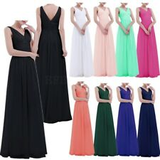 Women Formal Evening Dress Long Prom Cocktail Ball Gown Party Bridesmaid Dresses
