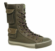 Converse Chuck Taylor All Star Lace Up Unisex Olive Green Hi Tops 100253 WH
