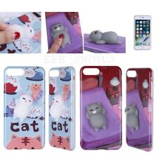 New Squishy 3D Soft Silicone Cat TPU Phone Case Cover for iPhone 6 6S 7 6/7 Plus