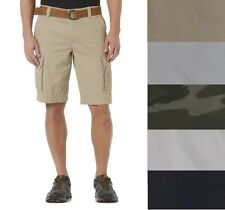 Roebuck and Co Young Mens Belted Cargo Shorts Cotton size 30 32 34 36 40 NEW