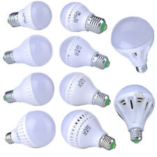 110V-240V LED E27 Energy Saving Warm White Light Bulb Lamp 9/12/12/15/20/25W