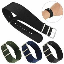 Military Sport Divers Nylon Replacement Watch Strap Band Bracelet 22mm