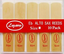 20 Lazarro® Reeds for Eb E-Flat Alto Sax Saxophone~Sizes: 1.5, 2, 2.5, 3, 3.5, 4