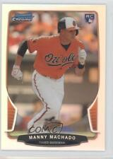 2013 Bowman Draft Picks & Prospects Chrome Refractor 4 Manny Machado Rookie Card