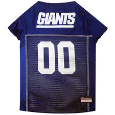 New York Giants NFL Dog Pet Mesh Jersey (Sizes)