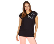 Fox Women's Perservering Roll Sleeve Tee - Black