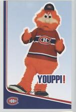 2006-07 Montreal Canadiens Team Issue #! Youppi! Rookie Hockey Card