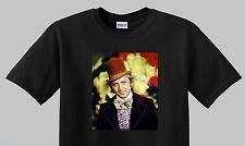 Gene Wilder Willy Wonka T shirt (New) Gene Wilder shirt; Willy Wonka Black Shirt