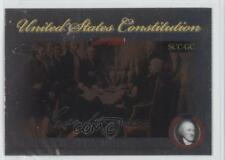 2006 Topps Chrome Signers of the United States Constitution SCC-GC George Clymer