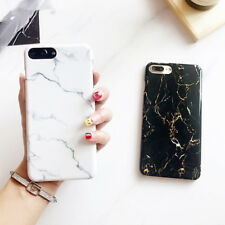 Luxury Hard PC Shockproof Marble Texture Phone Case Cover For iPhone 6 6s 7 Plus