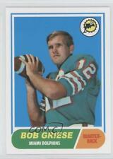 2012 Topps Quarterback Rookie Reprints #196 Bob Griese Miami Dolphins Card