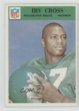 1966 Philadelphia #136 Irv Cross Eagles Rookie Football Card