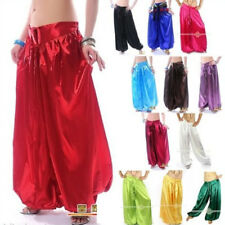 US Harem pants Belly Dance Costume trousers Arabic Cultural show fancy pants