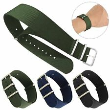 Infantry Military Army Fabric Buckle Nylon Wrist Watch Band Strap Replacement