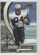 2000 Playoff Absolute #92 Ricky Williams New Orleans Saints Football Card