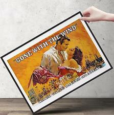 GONE WITH THE WIND Movie Poster | Cubical ART | Gifts | FREE Shipping