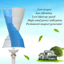 100/200/300W DC 12V Vertical Wind Power Turbine Generator with Charge Controller