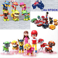 Paw Patrol Dog Puppy Rescue Character Toys Figure Figurine Cake Topper AU