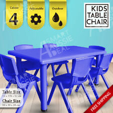 Melbourne Stock Popular Kids table Chairs Play Outdoor Eco-friendly Plastic Safe