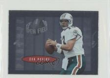 1996 Playoff Contenders Open Field #13 Dan Marino Miami Dolphins Football Card