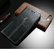 Luxury Magnetic Leather Case Flip Card Holder Wallet Cover For Samsung/iPhone R