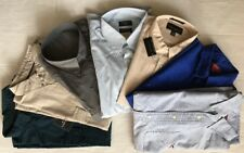 Men's New Long Sleeve Full Down Button Casual Shirts- Choice Size & Color