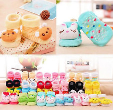 Baby Anti-slip Socks Cartoon Newborn Slipper Shoes Boots 0-12 Months Baby Shoes