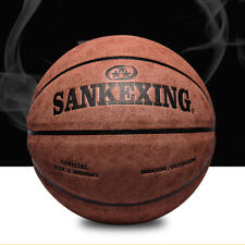 Official Size 7 Leather Basketball Indoor Outdoor  Anti-Slip Sports Ball