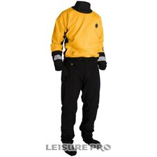 Mustang Survival Water Rescue Dry Suit, Yellow/Black