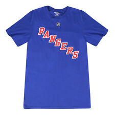 Reebok Nhl New York Rangers Graphic Printed Design Men's T-shirt, Blue