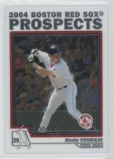 2004 Topps Chrome Traded & Rookies #T100 Kevin Youkilis Boston Red Sox Card
