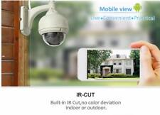 White 720P H.264 Wifi IP Security Camera Wireless ONVIF IR Night Vision Outdoor