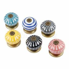 Classic Ceramic Knobs Kitchen Drawer Cabinet Door Pull Handle Furniture Hardware