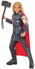 Thor: Ragnarok Thor Deluxe Muscle Chest Child Costume, Size S, M, L