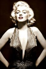 MARILYN MONROE SEPIA POSTER (61x91cm)  PICTURE PRINT NEW ART