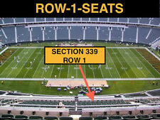 4 Front row Indianapolis Colts at Cincinnati Bengals tickets in sec 339 row 1