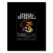 AVENGED SEVENFOLD - UK Tour 2005 Mini Poster