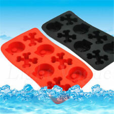 Silicone Tray Mould Ice Molds Mold Cube Bar Party Jelly Maker Skull Food-grade X