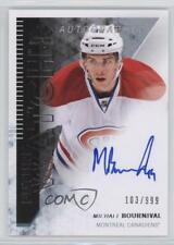 2013 SP Authentic #295 Michael Bournival Montreal Canadiens Auto RC Hockey Card