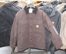 New Carhartt C26 Sandstone Traditional Coat Arctic Quilt Lined Various Sizes
