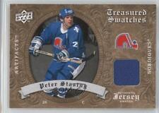 2008-09 Upper Deck Artifacts Retail Treasured Swatches #TS-PS Peter Stastny Card