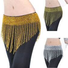 Belt Hip Scarf Skirt Wrap Bead Tassel Dancing Belly Dance Waistband Costume Prop