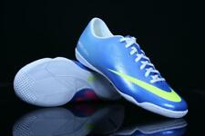 NIKE MERCURIAL VICTORY IV IC INDOOR SOCCER SHOES NEPTUNE BLUE 555614-474